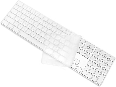 £12.06 • Buy Keyboard Cover Skin For Apple Magic Keyboard With Numeric Keypad Wireless Ultra