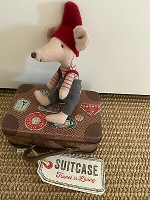 $37.12 • Buy MAILEG Little Brother Pixie Mouse In Suitcase BNWT
