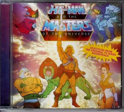 $154.15 • Buy Cd He-man He Man And The Masters Of The Universe Anniversary 30th Promo Motu