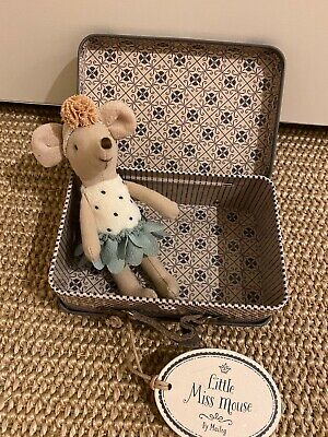 £32.99 • Buy MAILEG Little Miss Mouse In Suitcase Little Sister Retired Mouse BNWT
