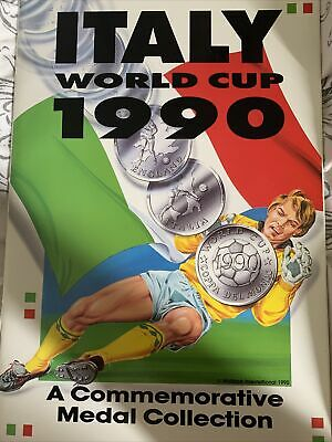 £75 • Buy Italy World Cup 90 1990 Medal And Coin Collection Complete Excellent