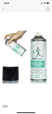 AU48.55 • Buy Fitness Spray PROFESSIONAL TREADMILL SILICONE OIl / GREASE 400ML