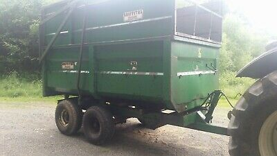 £2450 • Buy Griffiths 7 Ton Twin Axle Silage/grain Trailer