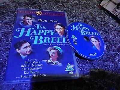 £8.50 • Buy This Happy Breed (DVD, 2003) John Mills, David Lean, Classic Collection