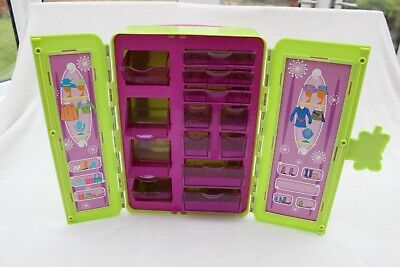 £8.99 • Buy Rare Polly Pocket Suitcase / Trolley /Storage /Bag/Wardrobe For Clothes & Shoes