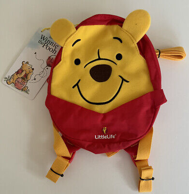 £12.99 • Buy LittleLife Disney Toddler Winnie The Pooh Backpack With Rein