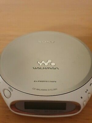 £14.99 • Buy Sony Walkman G-Protection D-EJ360 Personal Compact CD Player -Tested And Working