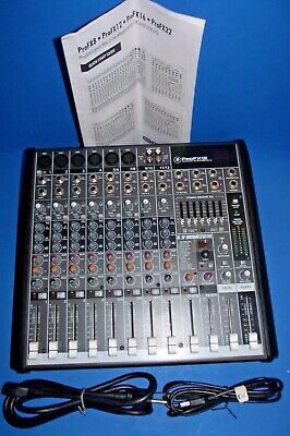 $229.75 • Buy MACKIE PRO FX12v3 12 CHANNELS PROFESSIONAL EFFECTS MIXER W/USB