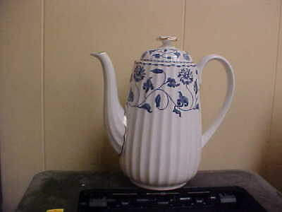 £145.45 • Buy Spode Colonel Blue Gold ENGLAND Large Coffee Pot NEW