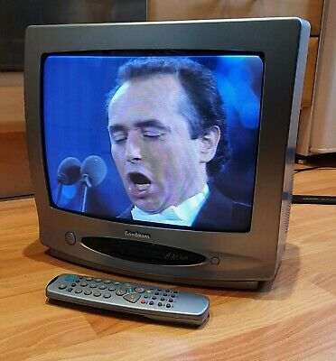 £45 • Buy Goodmans 14  CRT TV With Remote, SCART And RF Input - Model GTV34T6BLU4
