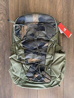 £59.99 • Buy BNWT The North Face Borealis Backpack Rucksack | Burnt Olive Green Camo