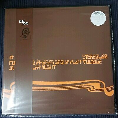 £89.95 • Buy Stereolab - Cobra And Phases Group Play Voltage 3lp Clear Vinyl Mastertape Obi
