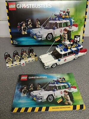 £69.95 • Buy LEGO Ideas Ghostbusters Ecto-1 (21108) - 100% Complete Boxed