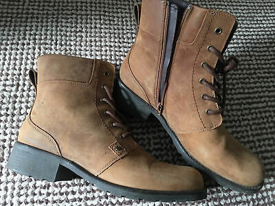 £37.90 • Buy Clarks Orinoco Spice Tan Snuff Leather Boots Boots Uk Size 9 D EUR 43.