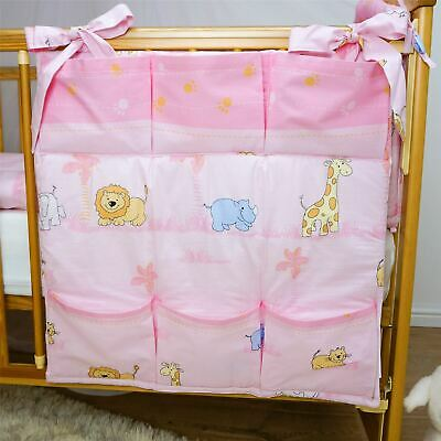 £12.79 • Buy Nursery Cot Tidy Organiser With Pockets 60x60 Cm For Cot Bed