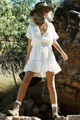 AU367.81 • Buy Spell & The Gypsy Collective Hanging Rock Play Dress XL