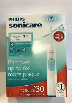 AU33.22 • Buy Philips Sonicare 2 Series  6X Plaque Control Rechargeable Toothbrush HX6211/04