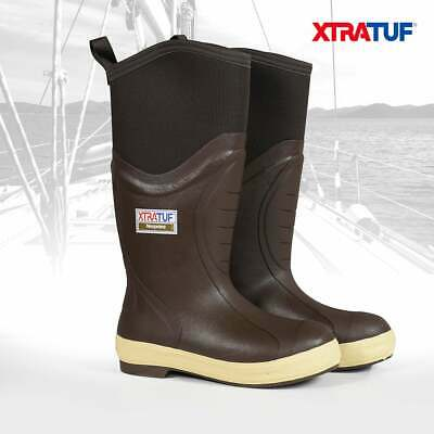 £79.99 • Buy XTRATUF Men's 15  Insulated Elite Legacy Brown Sailing Deck Boots 22613