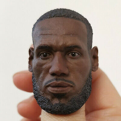 $49.99 • Buy 1:6 Scale NBA LeBron James Lakers Head Sculpt For ENTERBAY