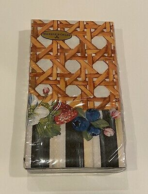 $18.95 • Buy MacKenzie-Childs Berries And Blossoms Paper Napkins - Guest NEW Sealed