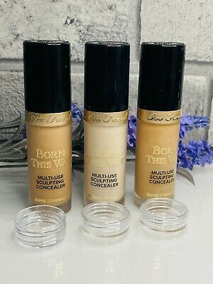 £5.99 • Buy Too Faced Born This Way Multi Use Sculpting Concealer Samples Travel Size