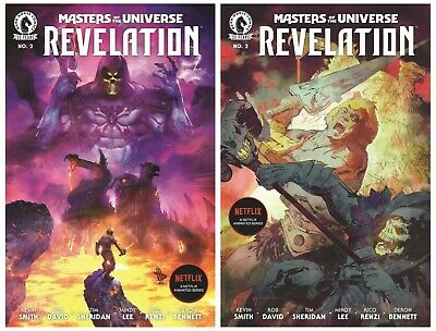 $7.49 • Buy Masters Of The Universe Revelation #2 Cover A B Variant Set Options Presale 8/11