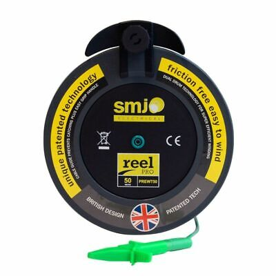 £53 • Buy SMJ 50m Metre R2 Earth Wander Lead For Insulation And Multifunction Testers MFT