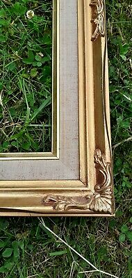 £29.95 • Buy Vintage Baroque Rococo Style Ornate Photo Picture Frame Wood Gold Gilt Tint