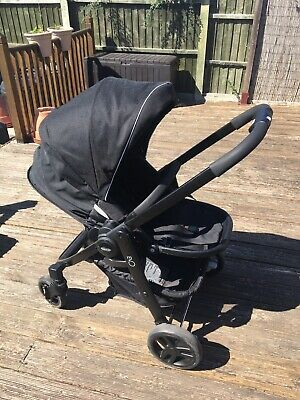 £75 • Buy Graco Evo Travel System- Stroller, Car Seat, IsoFix Base And Carrycot