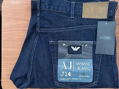 £11 • Buy Armani Jeans Denim Shorts In Blue Waist 38 Brand New With Tags