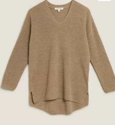 £24.99 • Buy Marks & Spencer Autograph Wool And Cashmere Blend Jumper Medium Bnwt