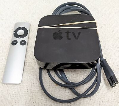 AU46.60 • Buy Apple Tv 3rd Gen With Remote And Power Cord-pre-owned-good Condition