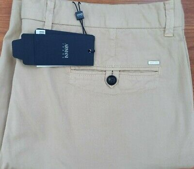 £19.99 • Buy Armani Jeans Chino Shorts In Beige Waist 36 Brand New With Tags