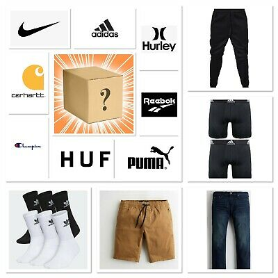 AU153.95 • Buy Clothing Lot-Shorts, Jeans, Boxers, Socks - Nike, Adidas, Hurley Up To $250 MSRP