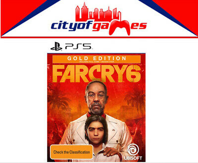 AU134.95 • Buy Far Cry 6 Gold Edition PS5 Game Brand New Pre Order