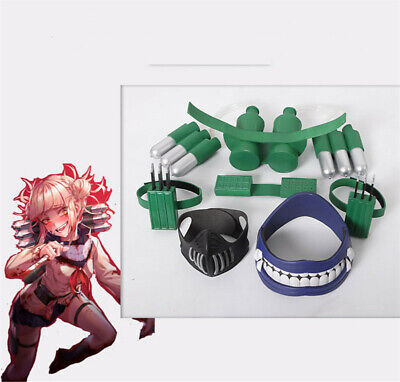 £87.13 • Buy My Hero Academia Himiko Toga Mask With Accessories Set Cosplay Prop Unsex Toy