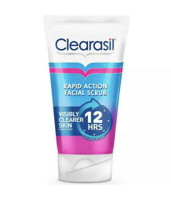 £9.99 • Buy Clearasil Ultra Rapid Action Scrub 1 X 125ml  Fast And Free Delivery