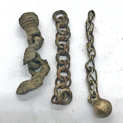 £15.97 • Buy Authentic Late & Post Medieval Chain Fragments - Antiquities Artifacts Old