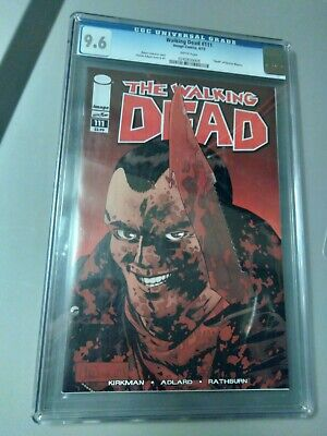 £36.37 • Buy The Walking Dead #111 Graded CGC 9.6 IMAGE COMICS BOOK Negan WHITE PAGES