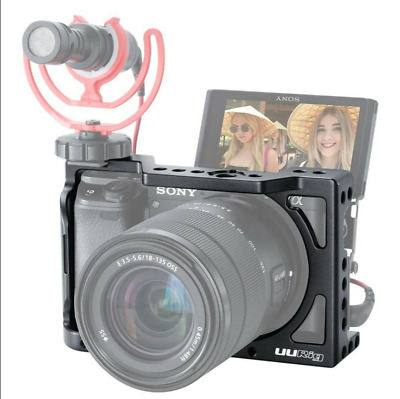 $ CDN59.06 • Buy C-A6400 Camera Cage For Sony A6400 A6300 A6100 Vlogging Extension Case Handheld