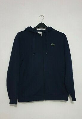 £26.77 • Buy Lacoste Mens Hoodie Navy Blue Size 5 -  Fits UK Size Large, 100% Genuine