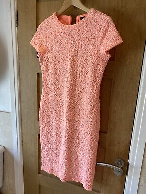 £5.99 • Buy River Island Peach/coral Dress Size 12