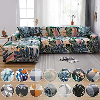 AU22.99 • Buy Sofa Covers Stretch Couch Lounge Chair Slipcover Protector L Shape 2 3 4 Seater