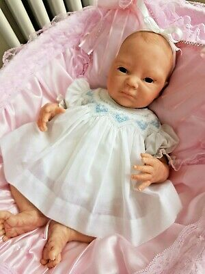 £130 • Buy Beautiful Reborn Baby Girl - Neveah From The Sculpt By Denise Pratt