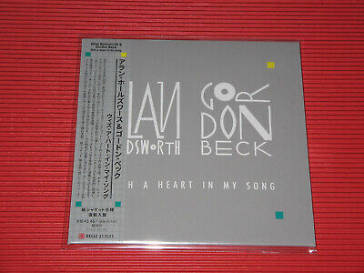 £26.96 • Buy 4BT ALLAN HOLDSWORTH & GORDON BECK With A Heart In My Song JAPAN MINI LP CD