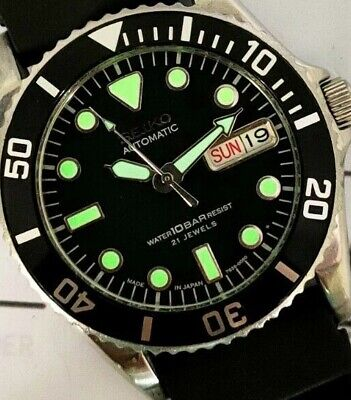 $ CDN141.95 • Buy Seiko Diver 7s26-0050 Skx023j (made In Japan) 10bar Automatic Mens Watch 911810