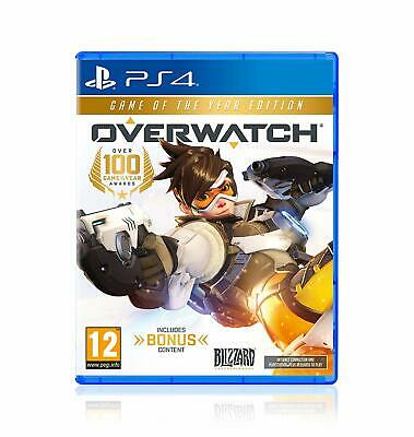 AU112.09 • Buy SEALED - Overwatch Game Of The Year UK Edition PS4 PlayStation 4