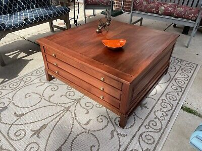 $299 • Buy 3 Drawer Flat File Cabinet~Drafting Map Blueprint~Game Table