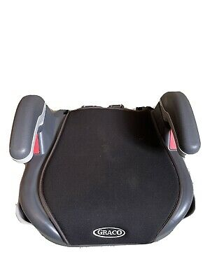 £12 • Buy Graco Booster Car Seat Midnight Black Ages 4-12 Cup Holders 2/3 15-36kg