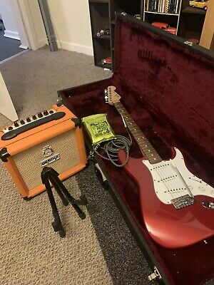 £540 • Buy Fender Stratocaster Guitar Mexican And Orange Amp